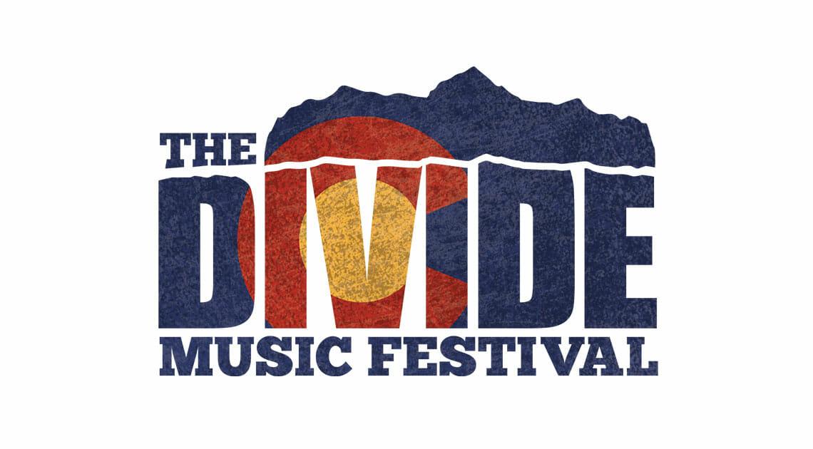 Logo design - The Divide Music Festival