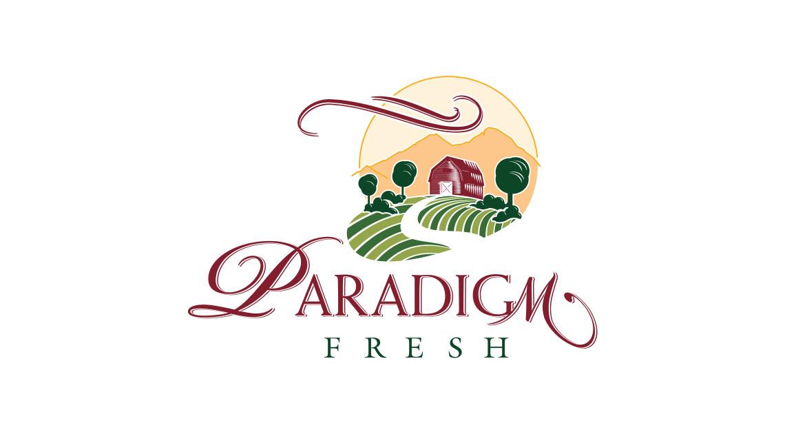 Logo design - Paradigm Fresh