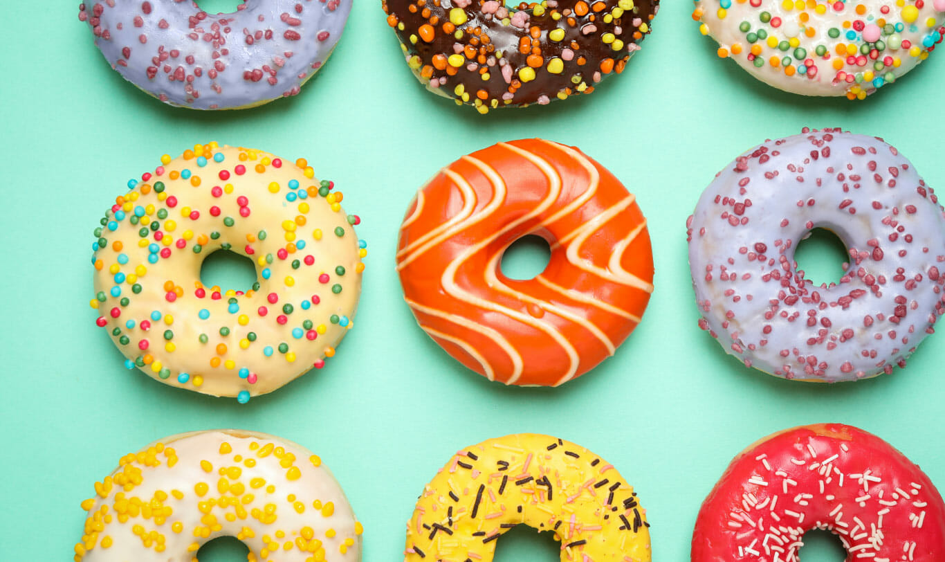 Branding Using Consistent Messaging and Imagery from SageMG - photo of delicious donuts