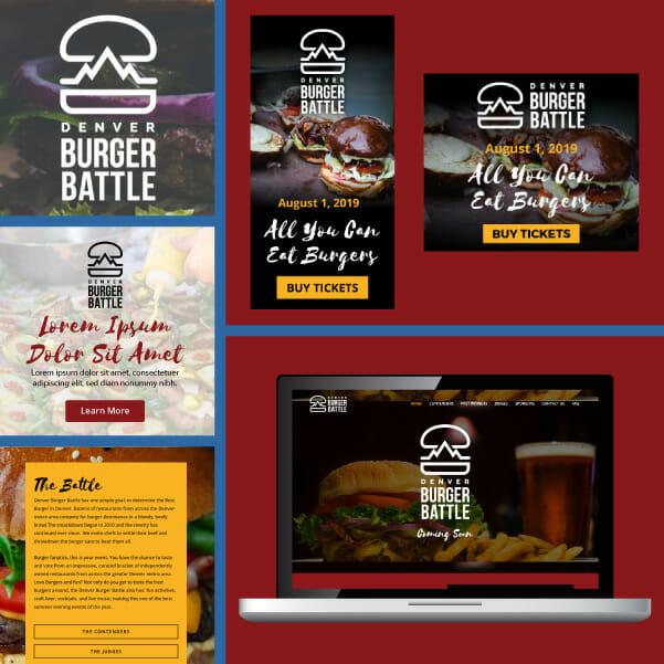 Event marketing example - Denver Burger Battle