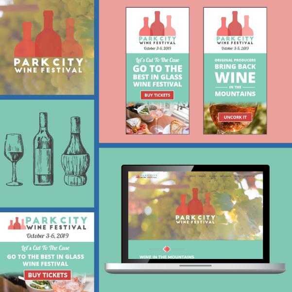 Event marketing example - Park City Wine Festival