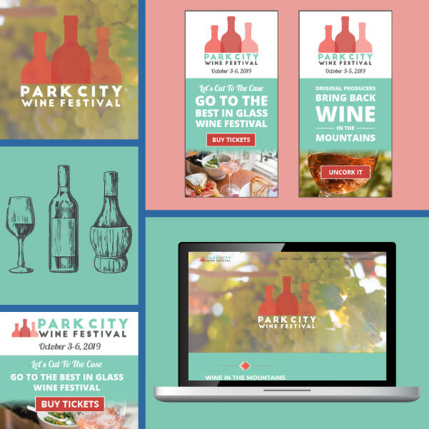 Event marketing example - Park City Wine Festival