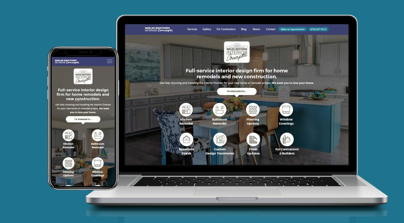 mielke-home-web-design