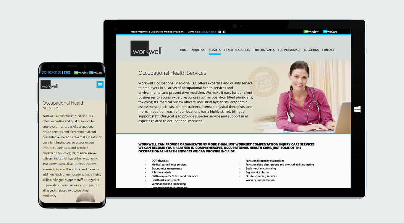 workwell-child-page-web-design
