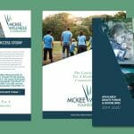 Graphic design example - McKee Wellness Foundation